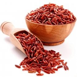 Semillas de arroz rojo...
