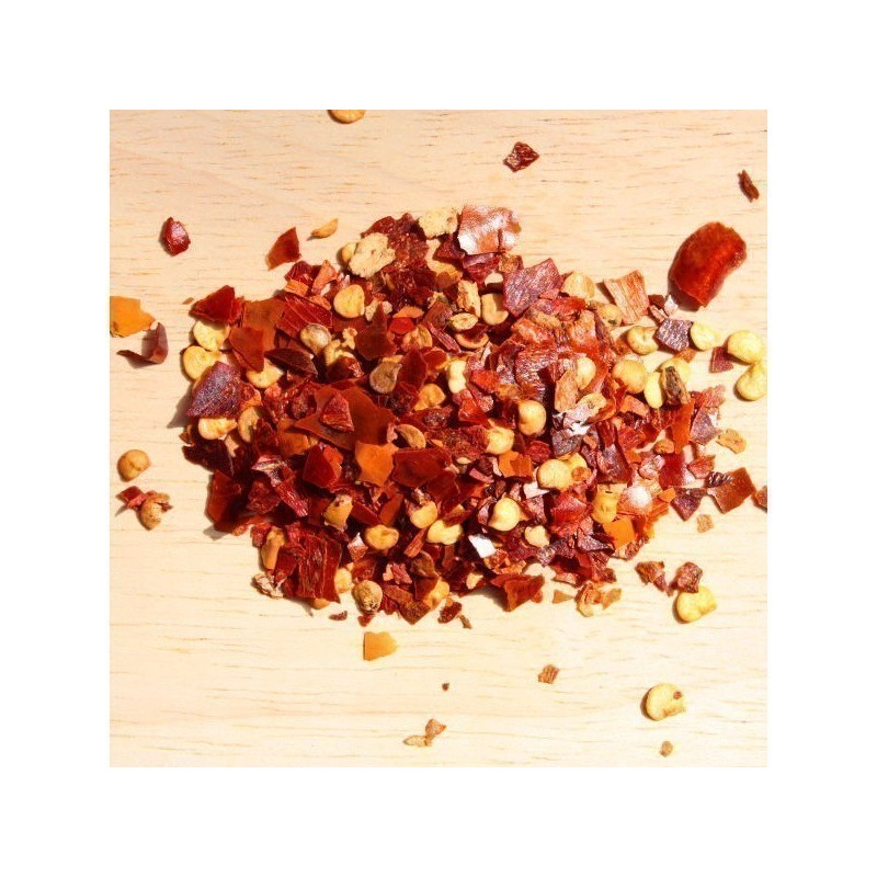 Trinidad moruga scorpion flakes Worlds Hottest