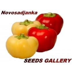 Σπόροι πιπέρι ''Novosadjanka''