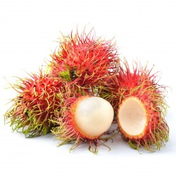 Σπόροι Rambutan Εξωτική γεύση και όψη τριχωτού αυγού