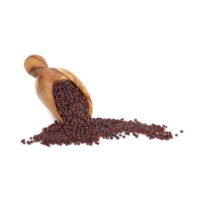 Black/brown mustard spices - unground