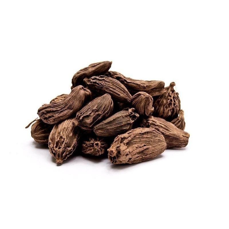 Black cardamom spice - whole