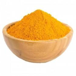 Yellow curry and banana mix - spice that destroys cancer