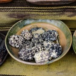 Graines de Maïs des Andes Noir Blanc Chulpe - Cancha 2.45 - 1