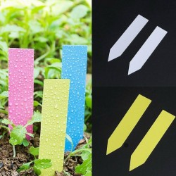 PVC Etichette Marcatori in Plastica Cartellini per Piante Giardinaggio 0.85 - 1
