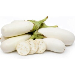 Semillas de Berenjena blanca larga 1.85 - 1