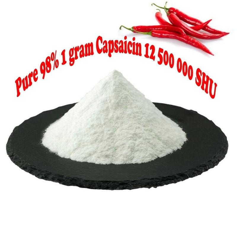Reines 98% Capsaicin 12.500.000 SHU -  1 Gramm 40 - 1