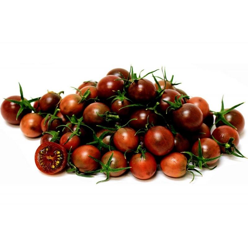 Schwarze Kirsch Tomaten Samen - Black Cherry Seeds Gallery - 4