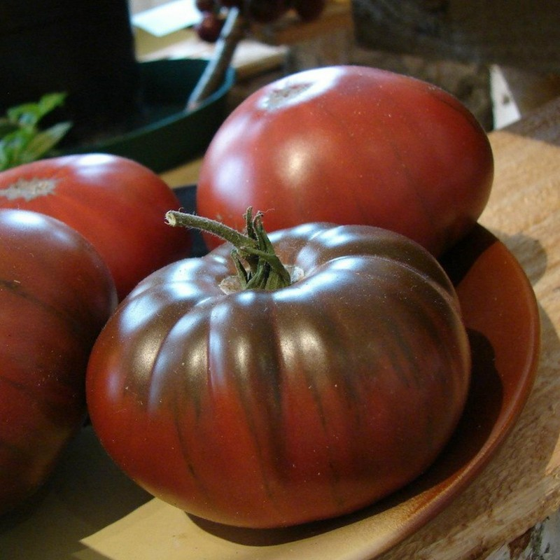 ARBUZNYI (watermelon) Big Green Tomato Seeds Seeds Gallery - 5