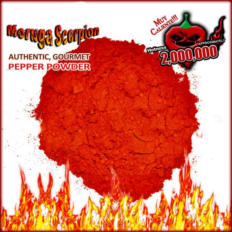 Trinidad moruga scorpion powder Worlds Hottest Seeds Gallery - 3