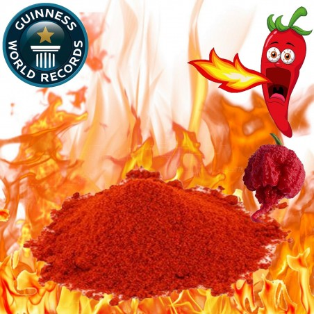 Carolina Reaper Powder World Record Hottest! HP22B